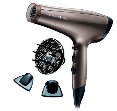 Remington Keratin Therapy - Sèche-cheveux ionique, moteur 2200 W AC.....