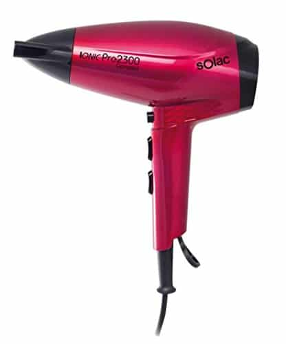Solac SH7088 Ionic PRO2300 Compact - Sèche-cheveux (2300 W, 6....