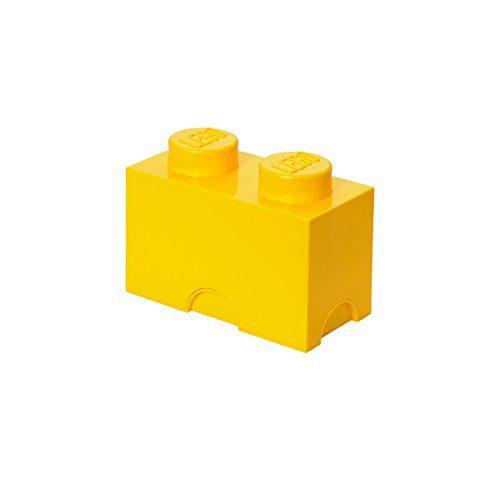 LEGO 40021732 - Boîte bloc 2, jaune (importé d'Allemagne)