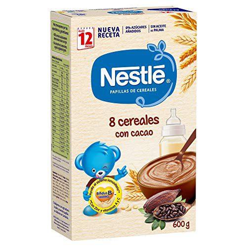 Nestlé - Junior Babyfood 8 céréales au cacao à partir de 12 mois 600 g