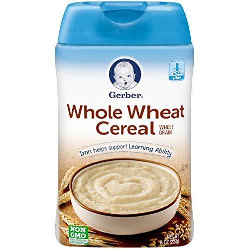 Céréales de blé entier, 8 oz (227 g) - Gerber