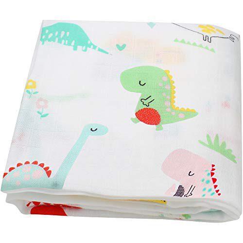 Couverture en mousseline de mousseline pour bébé Lebze -
