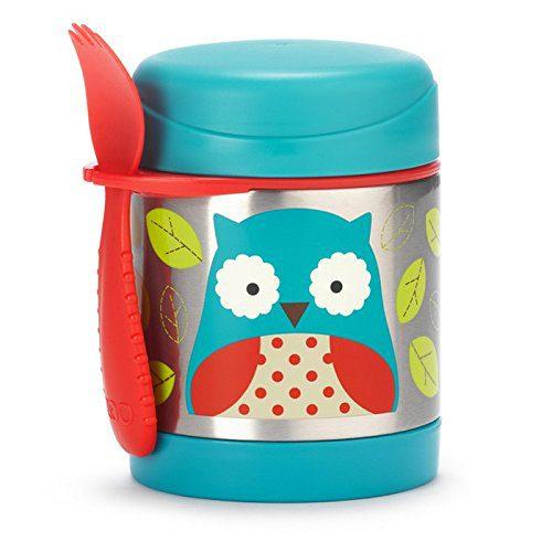 Skip Hop Zoo Owl - Pot isolé pour aliments, 325ml, 12m+, 12m
