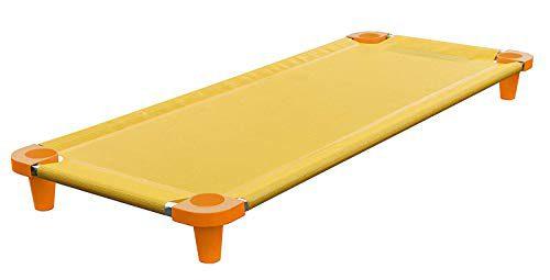 Acrimet Premium Cradle for Stackable Nap (tubes en acier inoxydable) (Jaune / Orange Feet) (1 unité)