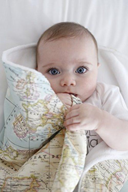 Berceuse pour nouveau-né super douce 10 impressions par Mimuselina (Carte du monde) ou mapa mundi - mundo