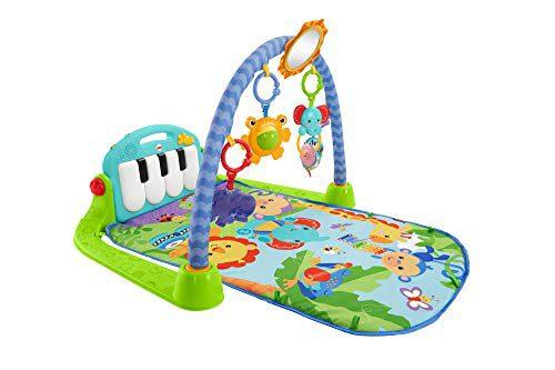 Fisher-Price Gym-piano, couverture de jeu pour bébé (Mattel BMH49)