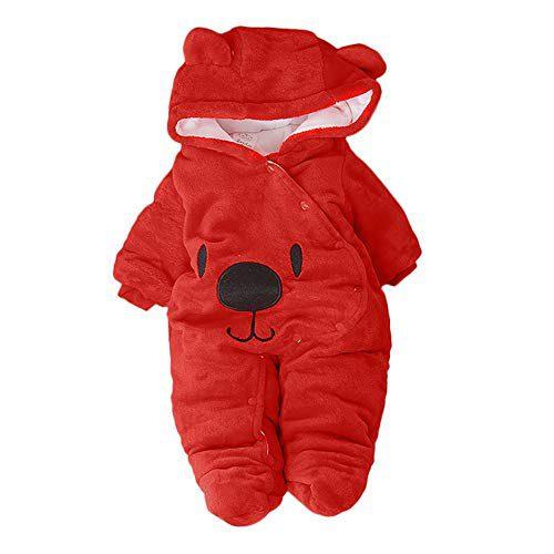 Les singes du nouveau-né avec capuche et velours Vêtements Mamelouks Vestes à capuche Baby Coat avec capuche....