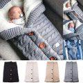 Yinuoday - Couverture pour nouveau-né avec velours pour poussette....