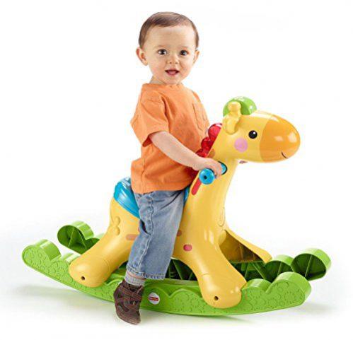 Fisher-Price - Girafe Fun Swings (Mattel BBW07)