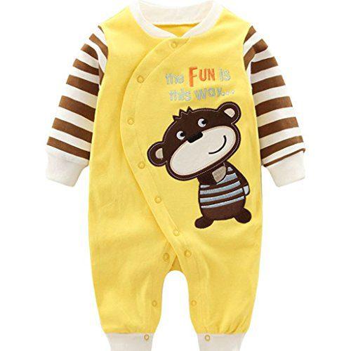 Bébés Pyjama Coton Coton Mamluk Filles Garçons Garçons Peleles Combinaison de nuit Combinaison Cartoon, 3-6 mois