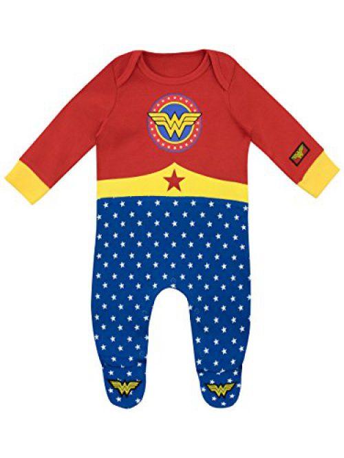 Wonder Woman - Pyjama Bébé Fille Entier - Wonder Woman - 6 à 9 Mois
