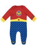 Wonder Woman - Pyjama Bébé Fille Entier - Wonder Woman -....