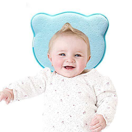 Coussin YOOFOSS Coussin ergonomique pour bébé Coussin anti-apaisement en forme de coussin pour la tête Soft pour bébé....