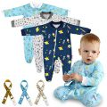 Pyjama 6 pièces Lictin Baby - Pyjama - Coton Mamelouk avec fermeture éclair et...