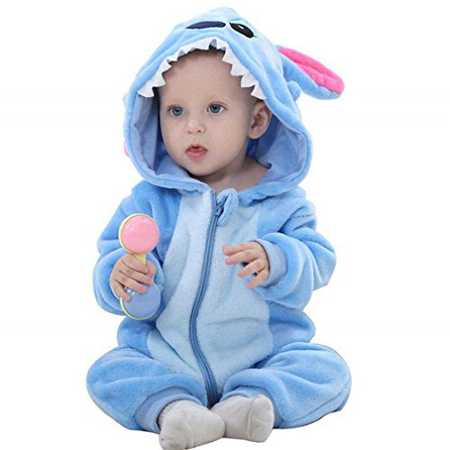 Mameluke Quilt Baby Girls Baby Girls Girls Cute Printemps et Automne Flanelle Animal Costume Vêtements (6-12 mois, Baby Leopard)....