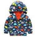 Veste Logobeing Boy avec capuche, Dinosaures Dessins à capuche d'hiver Manteaux Sweatshirt Manteau....