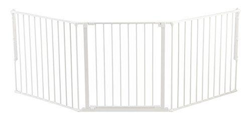 Baby Dan - Barrière de sécurité modulaire flexible l - blanc