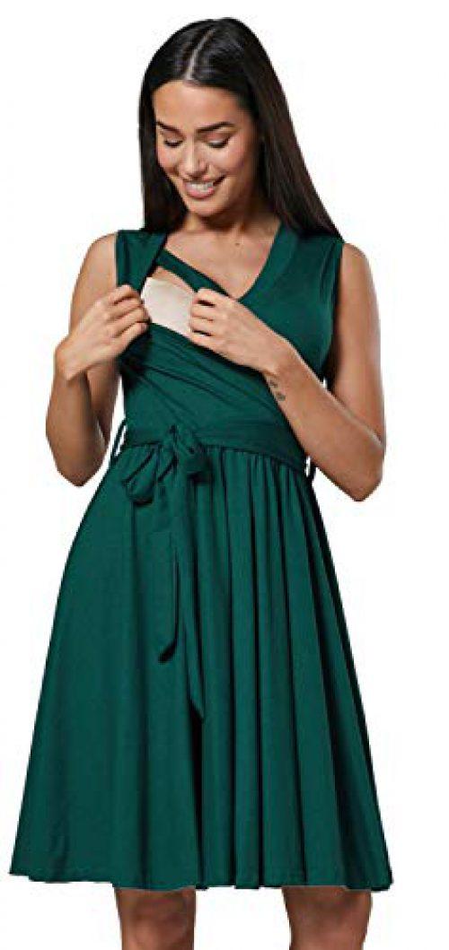 JOYEUX MAMA. 078p (Vert foncé, EU 42, XL) Préambule en couches pour femmes allaitantes 078p (Vert foncé, EU 42, XL)